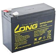 Long 12V 10Ah DeepCycle AGM F2 ólomakkumulátor (WP10-12SE) - Akkumulátor