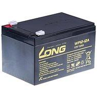 Long 12V 12Ah ólomakkumulátor F2 (WP12-12A) - Akkumulátor