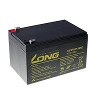 Long 12V 12Ah ólomakkumulátor DeepCycle AGM F2 (WP12-12E) - Akkumulátor