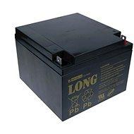 Long 12V 26Ah ólomakkumulátor F3 (WP26-12) - Akkumulátor