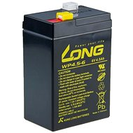 Long 6V 4,5Ah ólom-savas akkumulátor F1 (WP4.5-6) - Akkumulátor