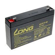 Long 6V 7Ah ólomakkumulátor F1 (WP7-6) - Akkumulátor