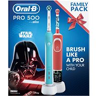 Oral-B Pro 500 + Vitality Star Wars - Elektromos fogkefe