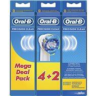 Oral-B Precision Clean pótfej, 6 db