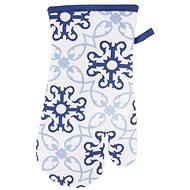 BLUE SHAPES  pamutkesztyű