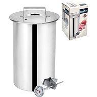 ORION Rozsdamentes acél kalapács 10 cm-es hőmérővel - Sonka készítő
