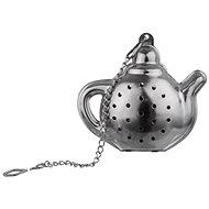 Rozsdamentes acélból függő teáskanna KETTLE 6x6 cm - Teaszűrő