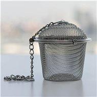 Rozsdamentes acél felfüggeszthető teaszűrő átm. 5 cm - Teaszűrő