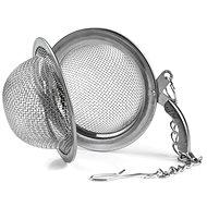 Rozsdamentes acél teaszűrő 4,5 cm csipeszes - Teaszűrő
