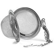 Rozsdamentes acél teaszűrő 5,4 cm-es klip - Teaszűrő