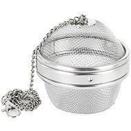 Rozsdamentes acél teaszűrő, átm. 9 cm - Teaszűrő