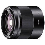 Sony 50mm F1.8 objektív, fekete - Objektív