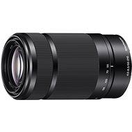 Sony 55-210 mm F4.5-6.3 fekete - Objektív