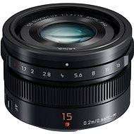Panasonic Leica DG Summilux 15mm F1,7 ASPH fekete - Objektív