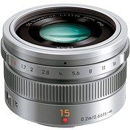 Panasonic Leica DG Summilux 15mm F1,7 ASPH ezüst - Objektív