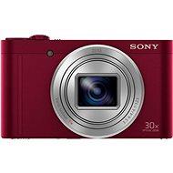 Sony CyberShot DSC-WX500 piros - Digitális fényképezőgép