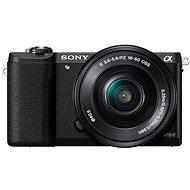 Sony Alpha A5100 fekete + 16-50 mm objektív - Digitális fényképezőgép