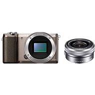 Sony Alpha A5100 barna + 16-50mm objektív - Digitális fényképezőgép