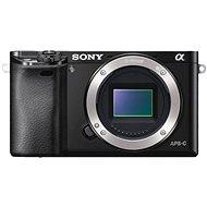 Sony Alpha A6000 fekete váz - Digitális fényképezőgép