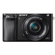Sony Alpha A6000 fekete + 16-50 mm objektív + 55-210 mm objektív - Digitális fényképezőgép