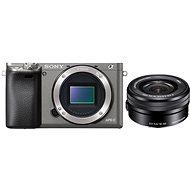 Sony Alpha A6000 grafitszürke + objektív 16-50mm - Digitális fényképezőgép