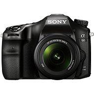 Sony Alpha A68 + objektív 18-55mm II - Digitális fényképezőgép