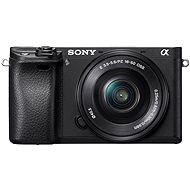 Sony Alpha A6300 Digitális fényképezőgép  + 16-50 mm objektív - Digitális fényképezőgép