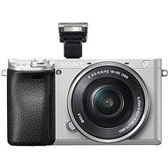Sony Alpha A6300, ezüst + 16-50mm objektív - Digitális fényképezőgép