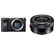 Sony Alpha A6400 + 16-50mm fekete - Digitális fényképezőgép