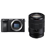 Sony Alpha A6400 + 18-135 mm OSS fekete - Digitális fényképezőgép