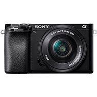 Sony Alpha A6100 fekete + 16-50 mm f / 3.5-5.6 OSS SEL - Digitális fényképezőgép