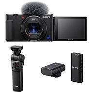 Sony ZV-1  GP-VPT2BT markolat + ECM-W2BT mikrofon - Digitális fényképezőgép