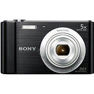 Sony CyberShot DSC-W800 fekete - Digitális fényképezőgép