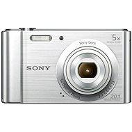 Sony CyberShot DSC-W800 Ezüst - Digitális fényképezőgép
