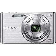 Sony Cybershot DSC-W830i Silver - Digitális fényképezőgép