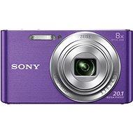 Sony CyberShot DSC-W830 Lila - Digitális fényképezőgép