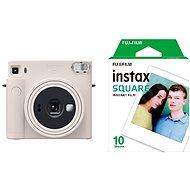 Fujifilm Instax Square SQ1 fehér + 10x fotópapír - Instant fényképezőgép