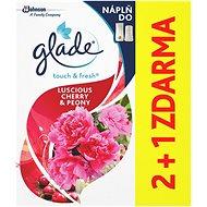 GLADE One Touch 2+1 utántöltő, bazsarózsa és cseresznye 3x10 ml - Légfrissítő