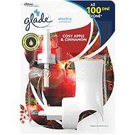 Glade Electric Cosy Apple & Cinnamon + utántöltő 20 ml - Légfrissítő