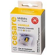 Mr & Mrs FRAGRANCE Cesare Vanilla Box (Yellow) sárga színű - Autóillatosító