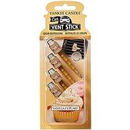 YANKEE CANDLE Vanilla Cupcake Vent Stick 4 db - Autóillatosító
