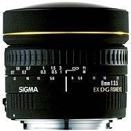 SIGMA 8mm F3,5 EX DG FISHEYE CIRCULAR - Canon - Objektív