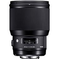 Sigma 85 mm F1.4 DG HSM Art Canon fényképezőgépekhez - Objektív