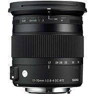 Sigma 17-70 mm F2.8-4 DC MACRO OS HSM Nikon (Contemporary) - Objektív
