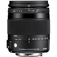 Sigma 18-200 mm F3.5-6.3 DC MACRO OS HSM - Canon (Contemporary sorozat) - Objektív
