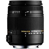 SIGMA 18-250 mm f/3.5-6.3 DC Macro OS HSM pro Sony - Objektív