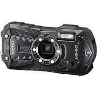 RICOH WG-60 fekete + neoprén tok + úszó pánt - Digitális fényképezőgép