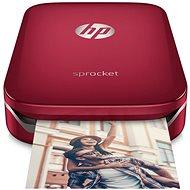 HP Sprocket mobil fotónyomtató piros - Hordozható nyomtató