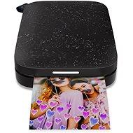 HP Sprocket 200 Photo Printer, fekete - Hőszublimációs nyomtató