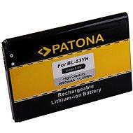 PATONA akku LG D855-höz 3000mAh 3,8V Li-Ion BL-53YH - Mobiltelefon akkumulátor
